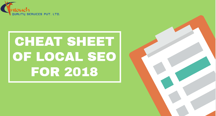 CHEAT SHEET OF LOCAL SEO FOR 2018