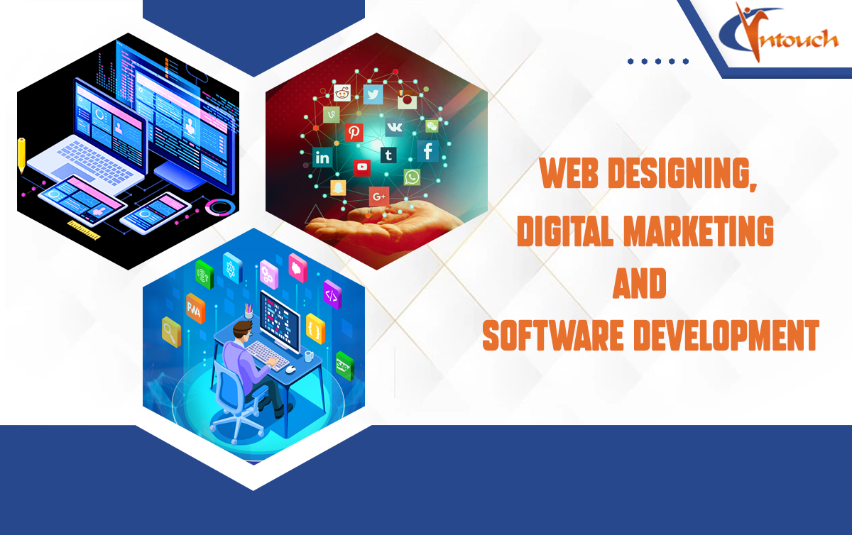 Why Web Designing, Digital Marketing, and Software Development Solutions with Intouch Group?